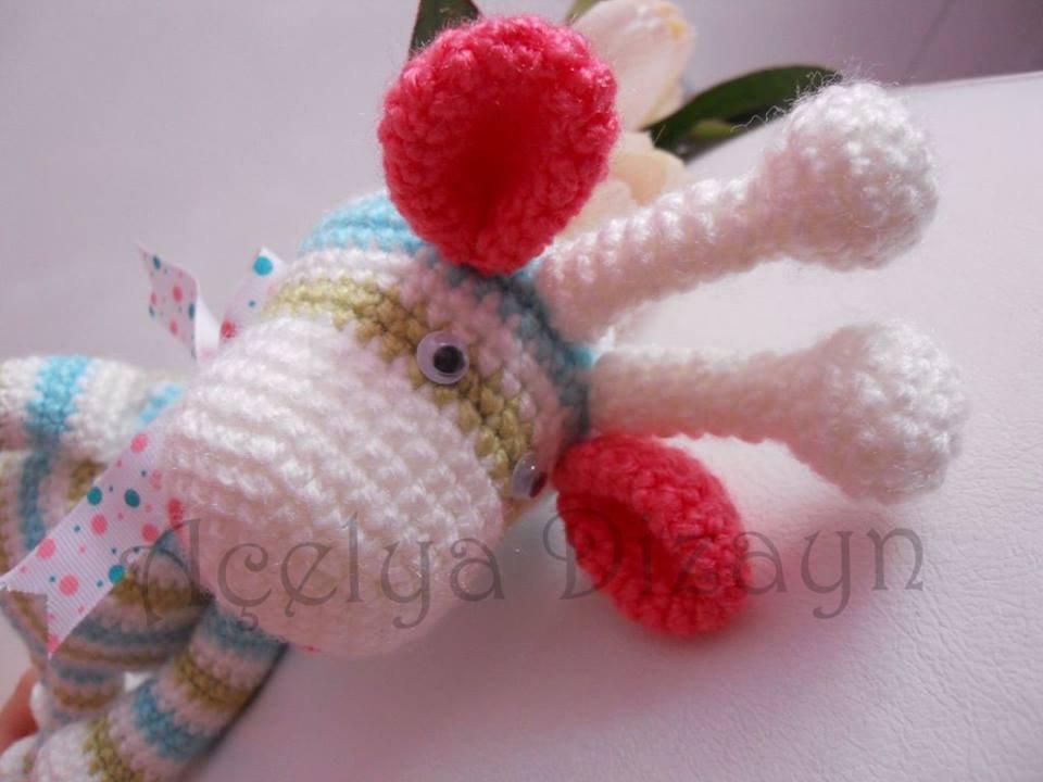 Amigurumi Zürafa Yapımı : Zürafa amigurumi oyuncak