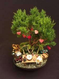 Minyatür Bahçe (Vintage Teması)