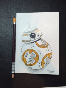 BB-8 Droid Not Defteri