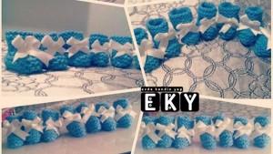 Mavi Patik Bebek Şekeri